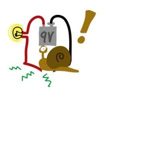 (figure 4) snail shocked