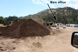 Free compost in Escondido