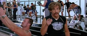 Gym scene from Zoolander